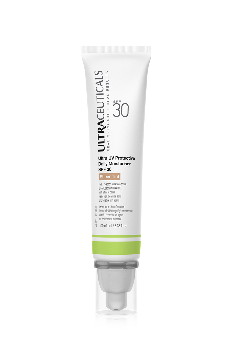 Ultraceuticals Ultra UV Protective Daily Moisturiser SPF 30 Sheer Tint